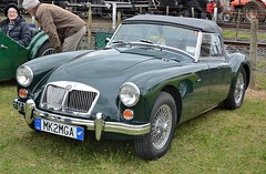 automobile, vehicle, mg mga, antique car, classic car, vintage car, land vehicle, luxury vehicle, convertible, sports car,