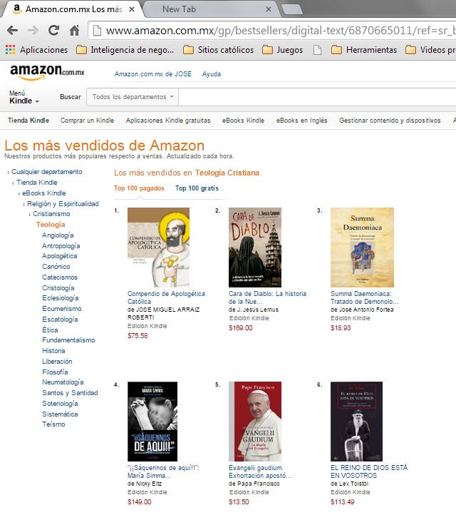 Compendio de Apologética Católica en Amazon.com.mx