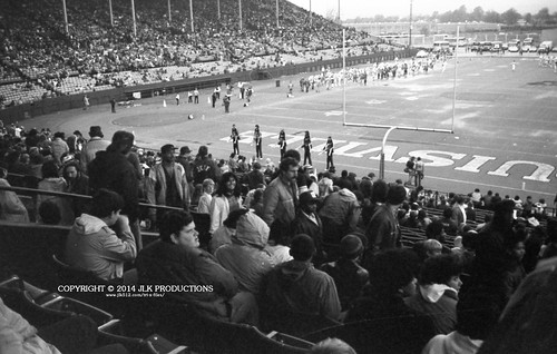 Tri-X Files 84_29.14a: One Last Crowd and Sidelines Shot, and Hey There's Meena!