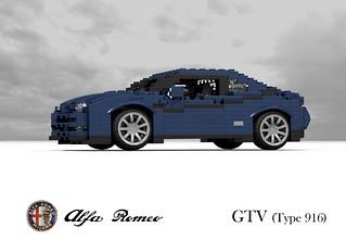 Alfa Romeo GTV (Type-916 - Pininfarina - 1994)