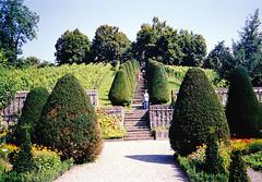 Wildegg-vár parkja