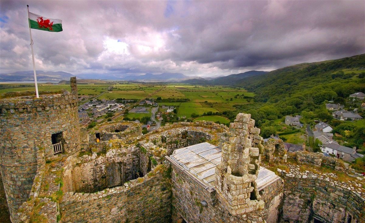 Harlech Castle. Credit Steve Rideout