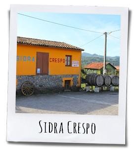 Bij Sidra Crespo in het dorp Sales wordt de cider nog op een traditionele manier gemaakt