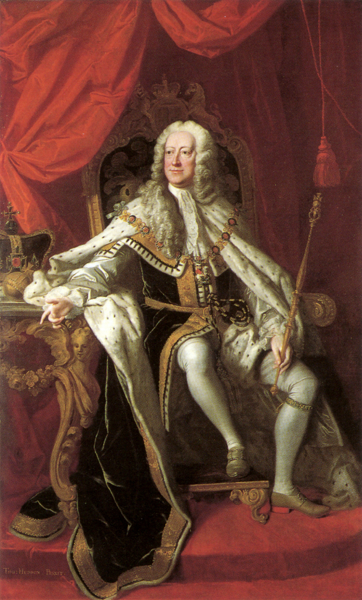 George II by Thomas Hudson, 1744