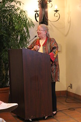 Sue McIntyre speaks at OCHS, Oct. 2016