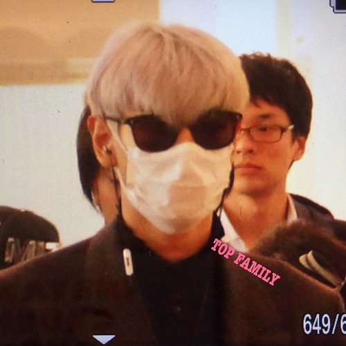 TOP Departure Seoul to Tokyo 2016-11-03 (1)