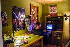 80s gaming room in Computerspielemuseum, Berlin