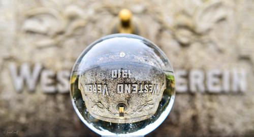 Westendplatz Brunnen des Westendvereins