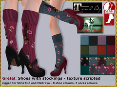 Bliensen - Gretel - shoes with stockings