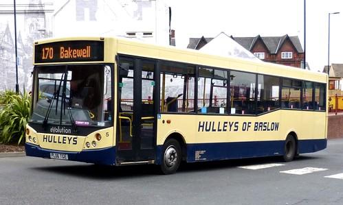 PL06 TGE 'Hulleys of Baslow' No. 5 Alexander Dennis Dart / MCV Evolution on Dennis Basford's 'railsroadsrunways.blogspot.co.uk'