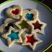 stained glass cookies by ladybugdiscovery