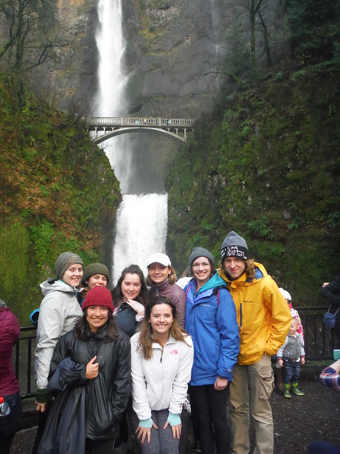 Eastern Columbia Gorge Waterfall Hike 12/3/16