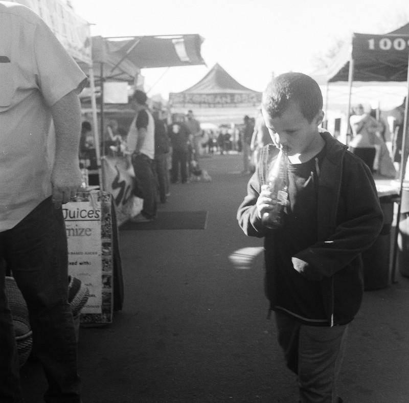 Boy with Soda, Hillcrest, San Diego