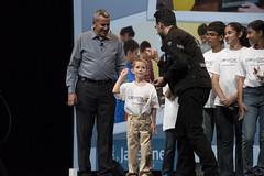 Peter Utzschneider, Stephen Chin and Kids, JavaOne Strategy Keynote, JavaOne 2014 San Francisco