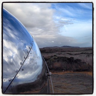 San Simeon, central coast, California. #airstream #airstreamdc2cali #vintageairstream #vintage #1964 #overlander