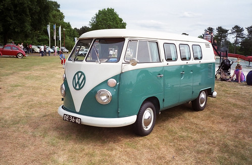 DE-36-40 Volkswagen Transporter bestelwagen 1965