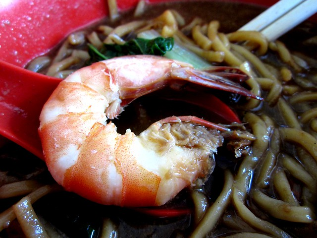 Delta Seafood & Cafe prawn noodles 2