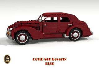 Cord 810 Beverly Sedan - 1936