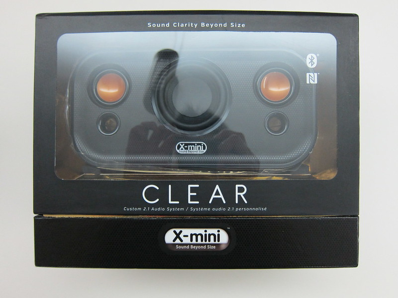 X-mini CLEAR - Box Front