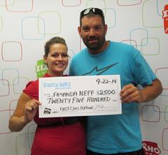 Amanda Neff - $2,500 First Class Fortune