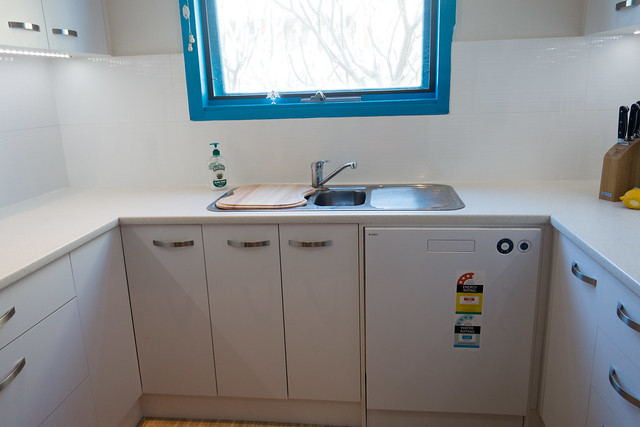 After - kitchen sink/dishwasher/cupboards