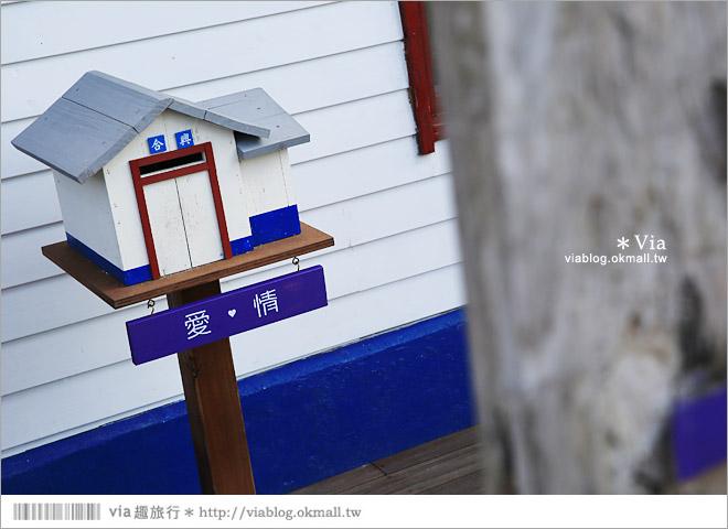 【愛情火車站】合興車站‧新竹內灣新景點!薰衣草森林進駐~有香草舖子+小甜心15