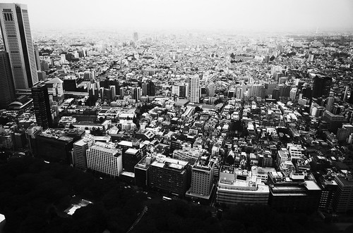 View from Tokyo Metropolitan Government Building Observatories