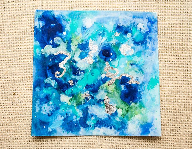 Small Abstract Watercolor