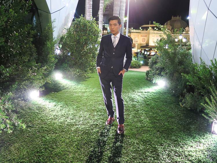 Bryanboy at the Inauguration of Les Pavillons de Monte Carlo