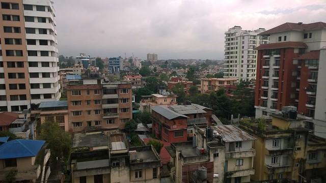 Kathmandu hotel view