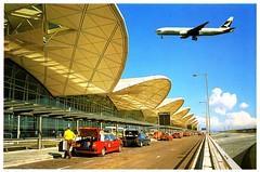 China-Hong Kong - Airport