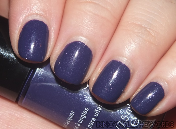 mary kay midnight jewels collection nail lacquers- sapphire noir