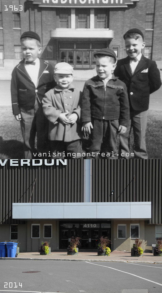 Before and After : Verdun Auditorium