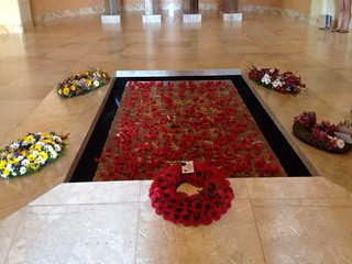 Wreaths in Hall of Valour