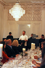 Chef David Hawksworth made an appearance