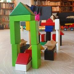 ByggeWilma bygger slott #wilma