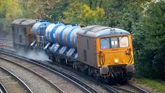 73136 and 73119 Tonbridge West Yard - Tonbridge West Yard 6W75 RHTT