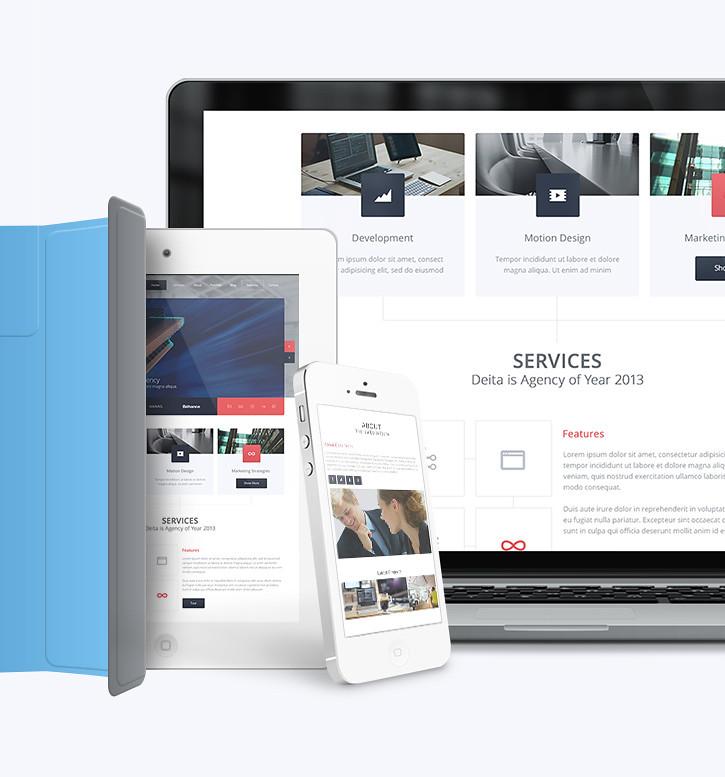 Deita - Responsive Modern Agency Theme