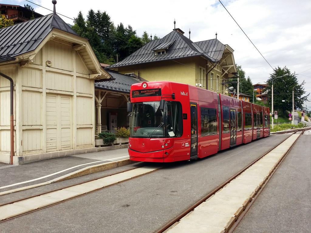 Tram Innsbruck Oostenrijk 2014