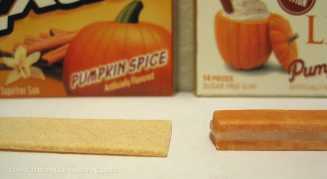 Wrigley's Extra Seasonal Edition Pumpkin Spice Gum and Trident Layers Limited Edition Pumpkin Spice Gum Trident-Extra face-off