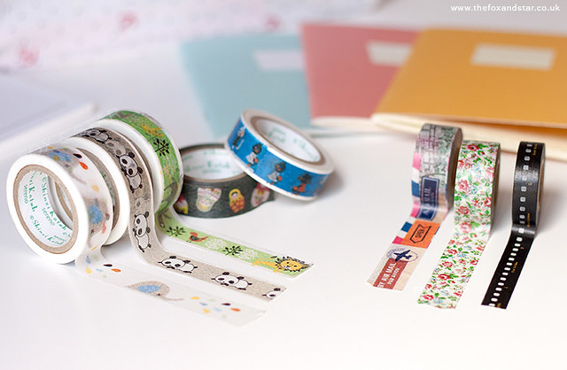 a cute desk :: shinzi katoh and maste washi tape