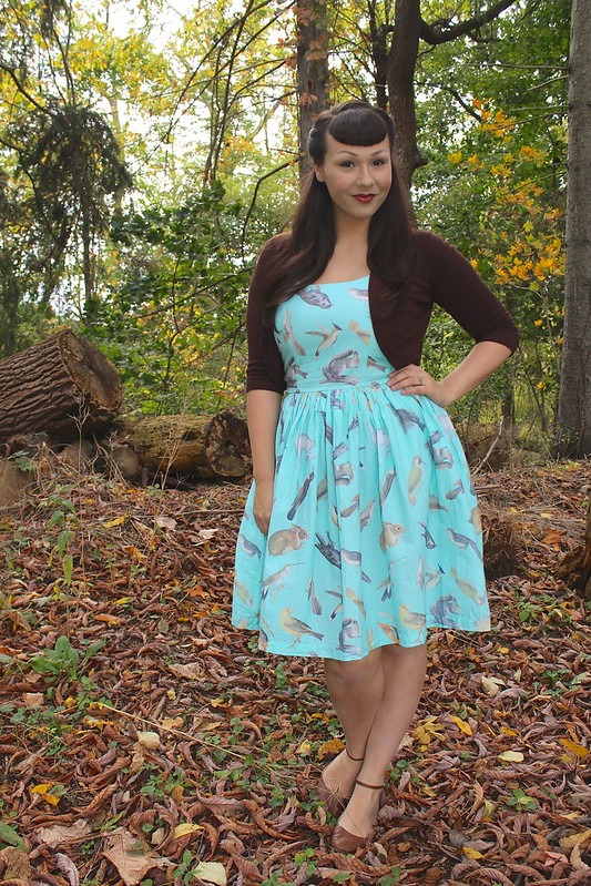 modcloth creature dress