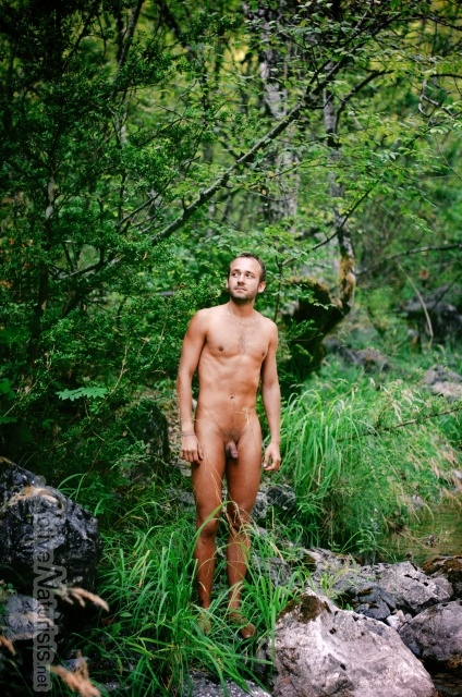 naturist 0009 E4 trail, Mount Olympus, Greece