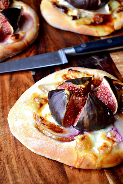 Fig and Goats Cheese Pizza Recipe
