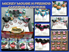 MICKEY DISNEY CAKEPOPS N COOKIES