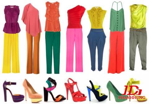 Cách phối màu quần áo cho Nam Nữ đẹp! Kết hợp màu sắc 2