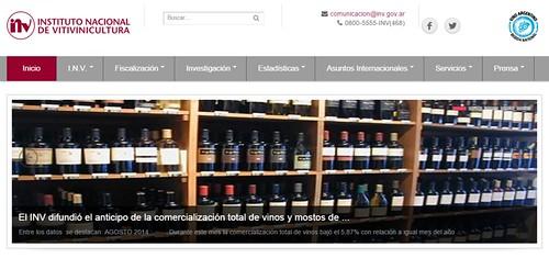 Nuevo sitio web del INV