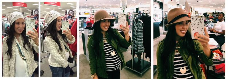 cute & little blog | petite fashion | fall / winter hat haul | slouchy beanie, wool fedora, wool floppy hat