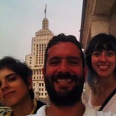 #selfie no topo de Sampa (ou quase lá) com @NataliaGarcia e @RafaelaMeneguetti #CPPU @ #Martinelli