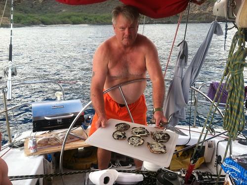Lahaina Return on Gerontius Farr 42 out of Waikiki Yacht Club